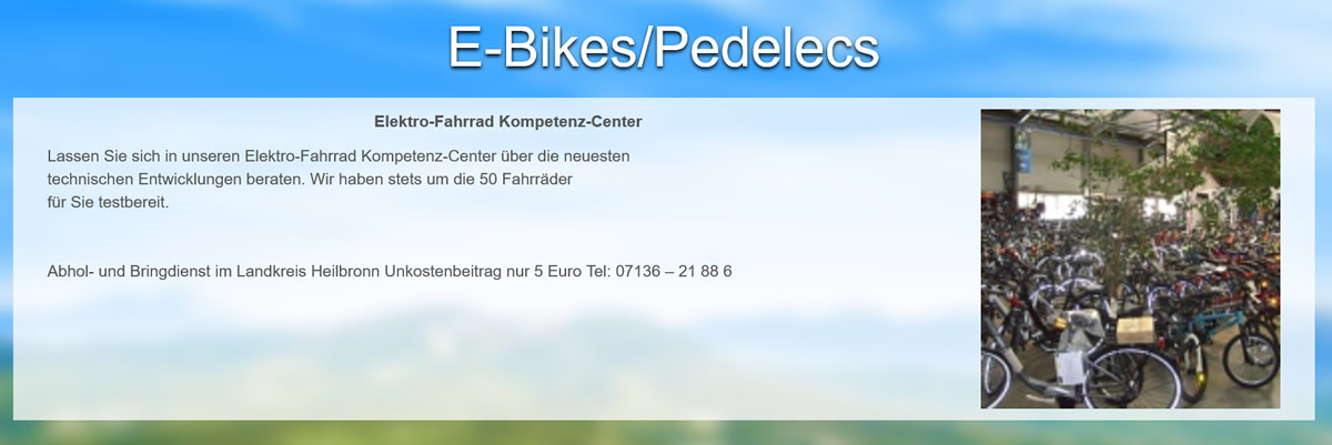 E-Bike für  Althengstett