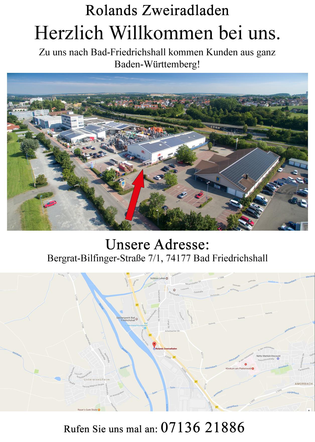 Fahrrad Laden in 74220 Flein, Talheim, Nordheim, Lauffen am Neckar, Untergruppenbach, Heilbronn, Kirchheim am Neckar oder Neckarwestheim, Ilsfeld, Abstatt
