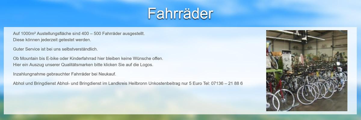 Fahrräder in 72667 Schlaitdorf